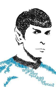 Typography Spock