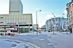 """1981.""""Arndale Centre, Manchester. by Ted Motler."""