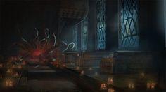 ArtStation - Church summoning, Silas Amdi