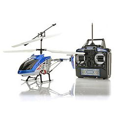 Hercules Ultra Durable RC Helicopter w/ Wireless Control & LED Lights