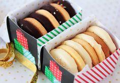 Postreadicción galletas decoradas, cupcakes y pops: Imprimibles gratuitos y ¡Feliz Navidad!