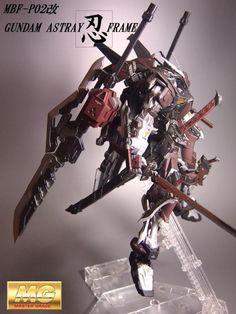 [Modelers-G] MG MBF-P02Kai Gundam Astray Shinobi Frame
