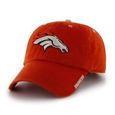 Denver Broncos Orange @'47 Brand NFL Ice Adjustable Hat at End Zone Apparel
