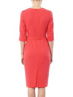 Goat 'Scarlett' pleat front dress