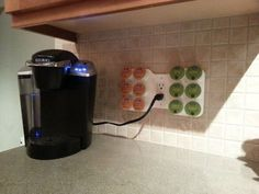 Cafe Wall Caddy - Space-Saving Coffee Pod Storage for K-Cups ...