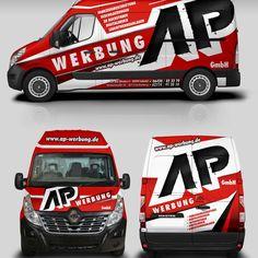Erstellung Design Fahrzeugbeschritung für einen Werbetechniker by MasterWrap(F3D)