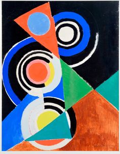 Sonia Delaunay, Composition pour jazz, 2ème série, No F 344, 1952