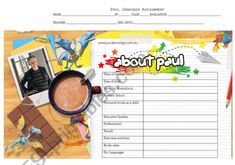 Worksheet on the biography of the authour Paul Jennings. It´s to be filled in by going to the official web site. Teaching Kids, Kids Learning, Teaching Resources, Vocabulary Games, Grammar And Vocabulary, Paul Jennings, Phonics Worksheets, Student Motivation, Problem And Solution