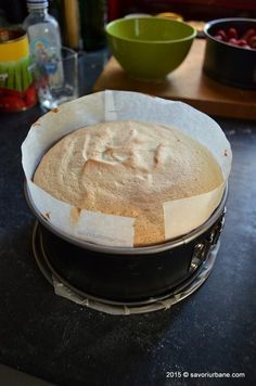 Blat de tort simplu - pandispan cu vanilie Savori Urbane (10)