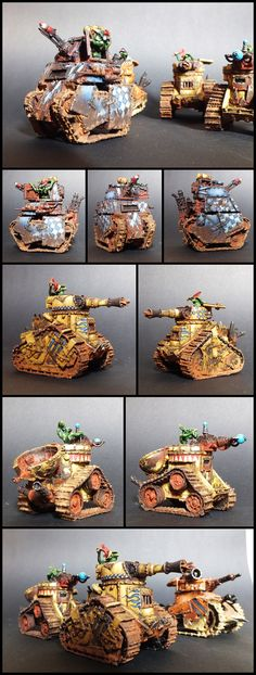Grot tanks (I so want some of these).