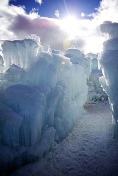 Ice Castles #travel #winter #Familytravel