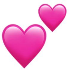 💕 Two Hearts Emoji Emoji Wallpaper Iphone, Cute Emoji Wallpaper, Iphone Png, Stickers Emojis, Pink Heart Emoji, Ios Emoji, Emoji Keyboard, Emoji List, Smileys