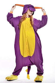 Kigurumi Animal Onesies Sleepwear Cosplay Costume Adult Unisex Pajamas L ** For more information, visit image link-affiliate link.