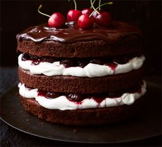 Black Forest gateau. In my opinion this is the best dessert in the world.