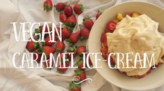 Caramel Ice Cream, Vegan Caramel, Vegan Treats, Sugar Free, Dairy Free, Vegan Recipes, Lunch, Dinner, Natural