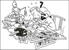 """""""Esclave de Tintin"""""""