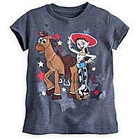 Jessie and Bullseye Tee for Girls - Toy Story