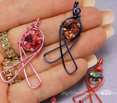 NEW Wire Jewelry Tutorial  Wired Awareness by MyWiredImagination, $5.00  wire wrapping tutorial