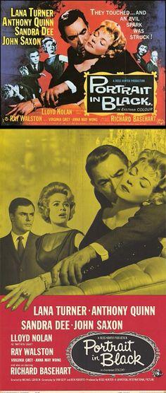 Portrait in Black (1960) starring Lana Turner, Anthony Quinn, Sandra Dee & John Saxon