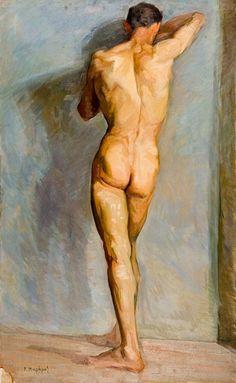 Peinture classique nu erotique