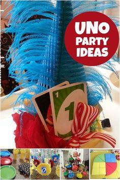 Uno First Birthday Party Ideas www.spaceshipsandlaserbeams.com