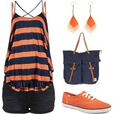Orange, created by aszand on Polyvore