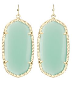 Danielle Earrings in Chalcedony - Kendra Scott Jewelry
