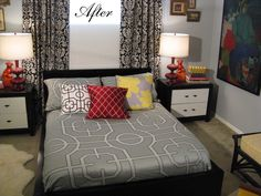 Robin Transforms The Birch Malm Bed Into Glossy Glam Bed. U201cThis Is Our Ikea