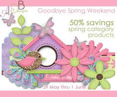 ADB Goodbye Spring Sale