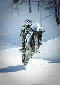 Winter Wheelie!