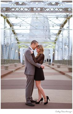 Downtown Nashville Engagement | Caley Newberry Photography