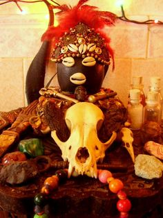 Eleggua's Closeup by Carolina Gonzalez, via Flickr