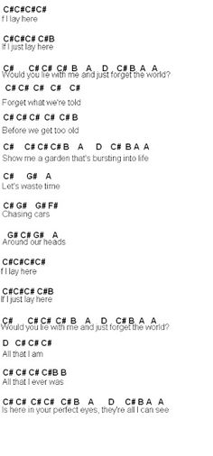 Flute Sheet Music: Chasing Cars part two maybe - ALİNA Piano Sheet Music Letters, Easy Piano Sheet Music, Flute Sheet Music, Music Sheets, Piano Jazz, Music Chords, Music Lyrics, Keyboard Sheet Music, Keyboard Letters