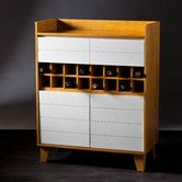 Found it at AllModern - <strong>Wildon Home ®</strong> Peralta 16 Bottle Wine Cabinethttp://www.allmodern.com/Wildon-Home-%C2%AE-Peralta-16-Bottle-Wine-Cabinet-XG4612-CST16204.html?refid=SBP.rBAZEVQXr7INV31TBmgDAs1Vti6M6UMcpDI8FFB97oQ