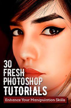 30 Fresh New Photoshop Tutorials – Enhance Your Manipulation Skills #besttutorials #freetutorials #photoediting #photomanipulation #photoshoptutorials #photoshoptips #photoshoptuts