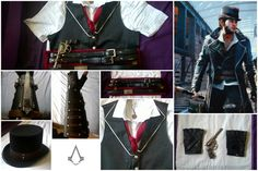 AC Syndicate - Jacob Frye Cosplay Collage 1 by Jammyjamjar
