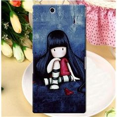 Jimmyboy Smooth Scrub Daze PC Jimmy Comic Series Hard Case For Sony Xperia Z Ultra