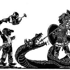 «Ο Μέγας Αλέξανδρος και το καταραμένο φίδι» στο Θέατρο Σκιών Χ.Α.Ν.Θ. Stock Character, Puppet Theatre, Shadow Puppets, Greek, Illustration, Illustrations, Greece
