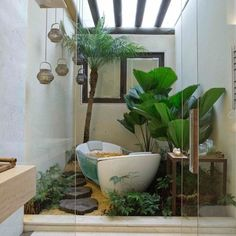 Master Bath Courtyard Design Ideas, Pictures, Remodel, and Decor - page 7