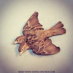 A made a few sets of these years ago and have always thought a pair of them would make a beautiful chest tattoo in place of the traditional sailor swallows. Mixed Media Sculpture, Chest Tattoo, Taxidermy, Rogues, Art Forms, Moose Art, Creatures, Swallow, Curiosity