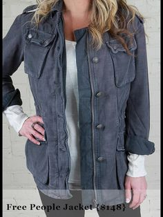Perfect winter jacket!  www.shopallurefashions.com