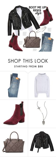 """""""Kendall Jenner Style Chelsea Boots"""" by hattie4palmerstone ❤ liked on Polyvore featuring Citizens of Humanity, Calvin Klein Collection, Kendall + Kylie, Alexander McQueen, MICHAEL Michael Kors, Nasty Gal, kendalljenner and chelseaboots"""