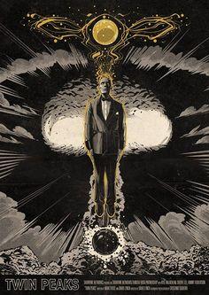 The Twin Peaks Cosmogony A Twin Peaks   Part 8 artwork © Cristiano Siqueira aka Crisvector. Via Twin Peaks Calls