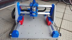 Root2+CNC+multitool+router+MDF+3D+printed+parts+by+sailorpete.