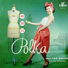 Polka Solek, Walter and his Orchestra Dana DLP 1226 1952