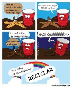 La difícil y triste realidad de los vasos de plástico        Gracias a http://www.cuantocabron.com/   Si quieres leer la noticia completa visita: http://www.estoy-aburrido.com/la-dificil-y-triste-realidad-de-los-vasos-de-plastico/