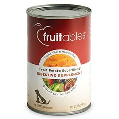 Fruitables Digestive Supplement  Sweet Potato  15 oz 12 Pack ** More info could be found at the image url.Note:It is affiliate link to Amazon.