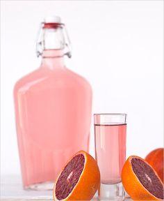 blood orange infused rum for cocktails #weddingreception #infusedrum #weddingchicks http://www.weddingchicks.com/2014/03/18/easy-beach-wedding-ideas/ (Ingredients In A Jar Candles)
