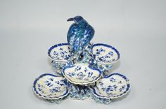 Derby Porcelain Sweetmeat Stand, circa 1758-1760.