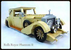 Rolls Royce Phantom II…Vanilla Flavor by Lino M #moc #LEGO